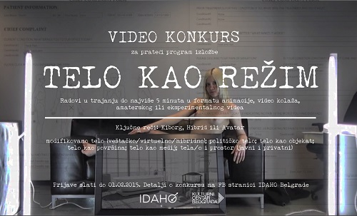 Telo kao režim - video konkurs