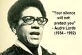 audre-lorde silencewillnotprotectyou